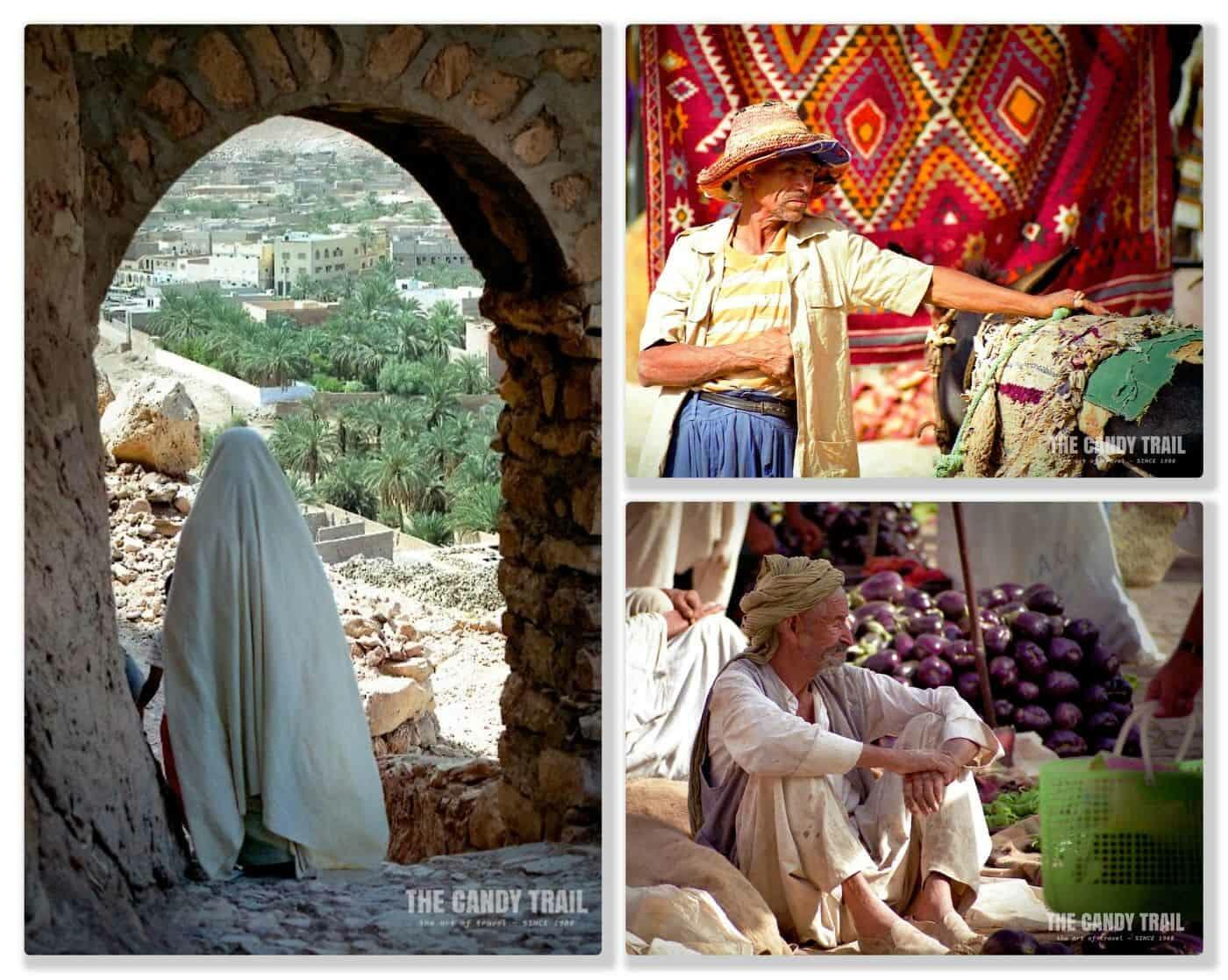 people of mzab valley algeria