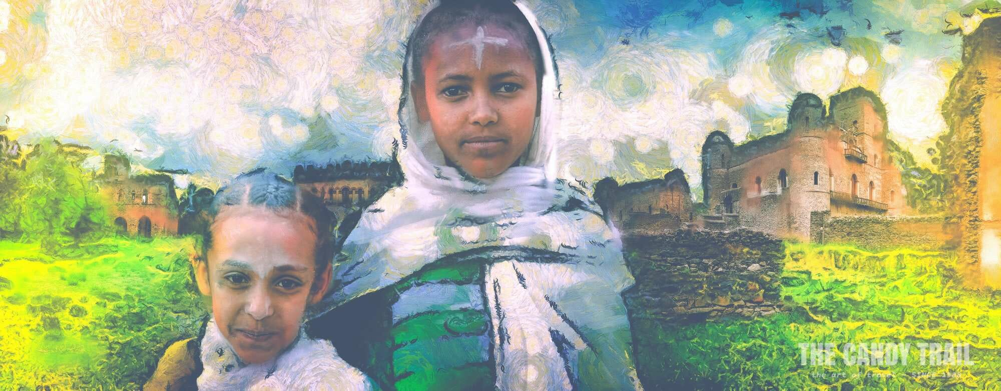 Girls of Gondar - Ethiopia: MRP ART - 2013