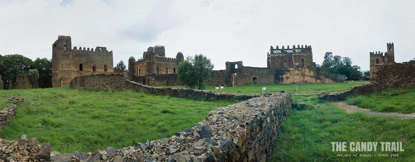 royal enclosure gondar castles ethiopia